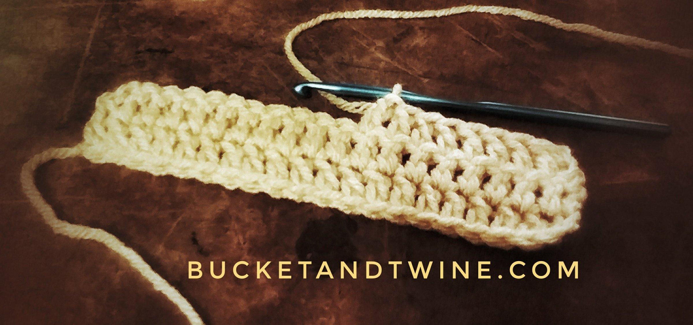 learn to double crochet