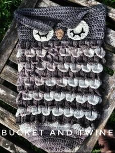crocodile stitch baby cocoon owl