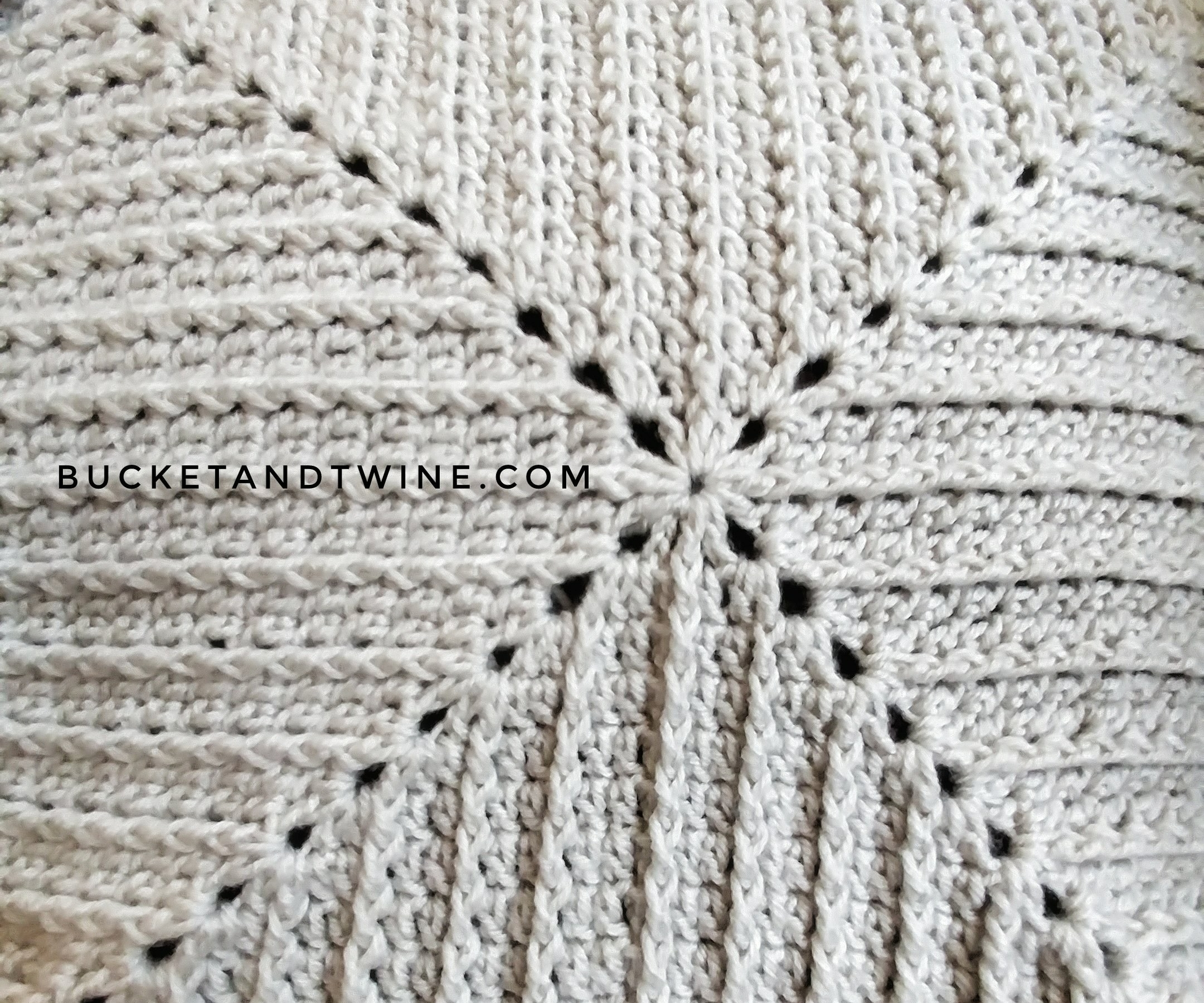 Granny square ridges front post double crochet