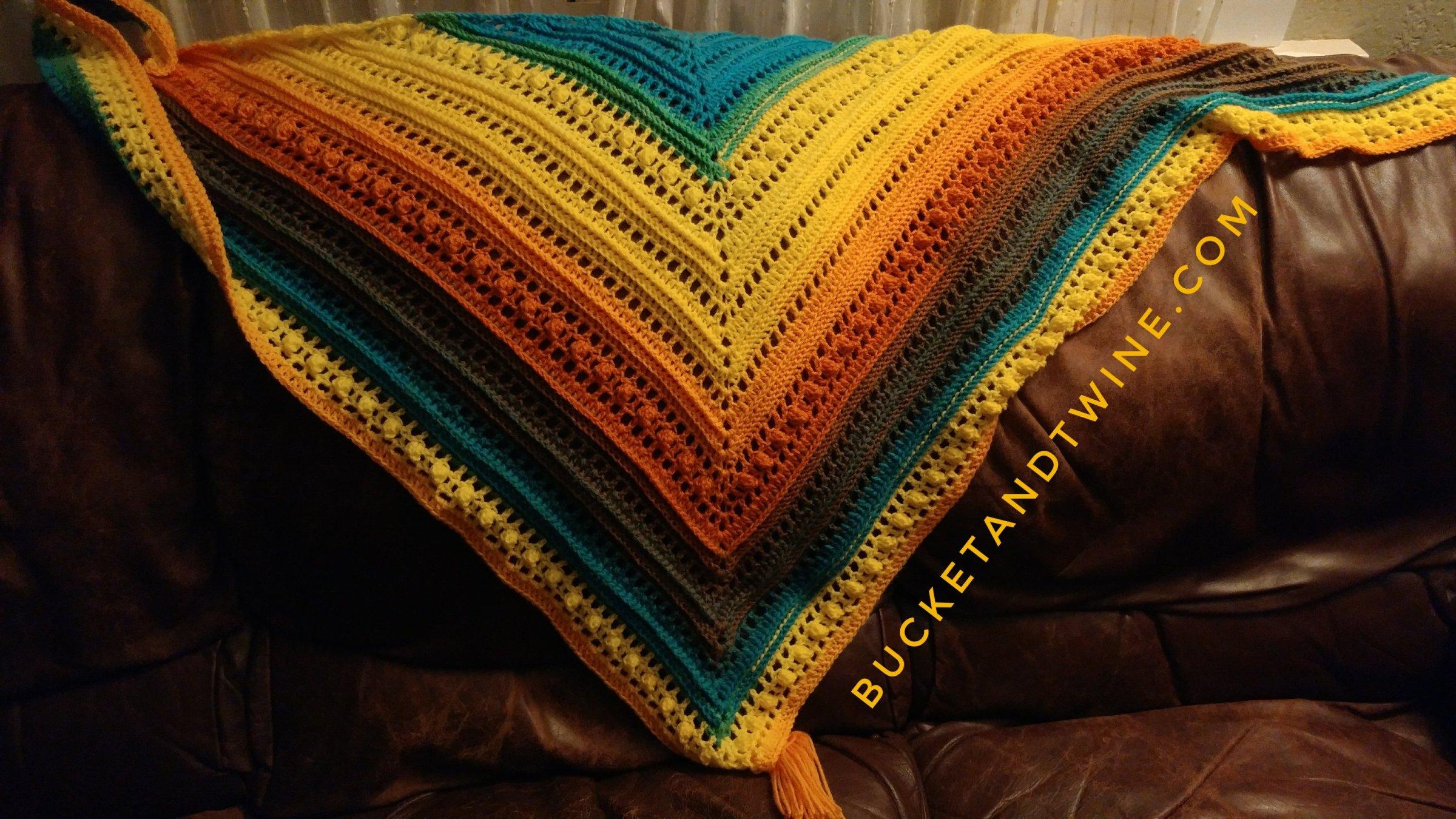 mijo crochet lion brand mandala thunderbird
